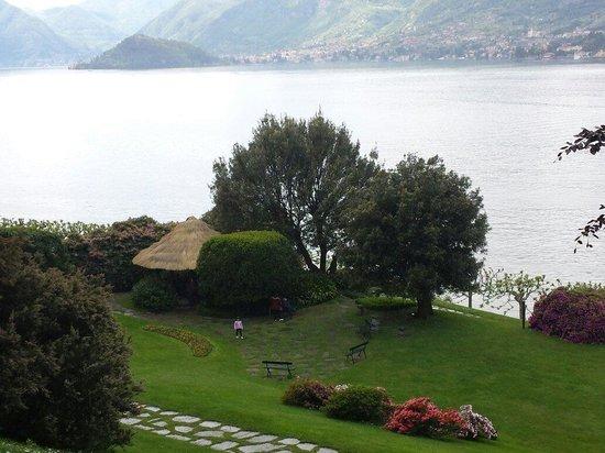 i Giardini di Villa Melzi: Veduta dall'alto