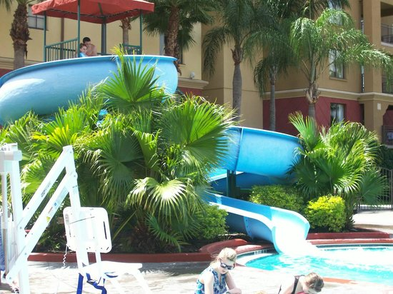 Wyndham Bonnet Creek Resort: water slide