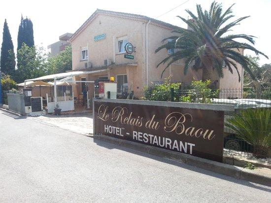 Hotel Le Relais du Baou: l'entrée