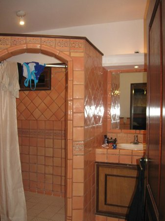 Hotel Colonial: Shower with class