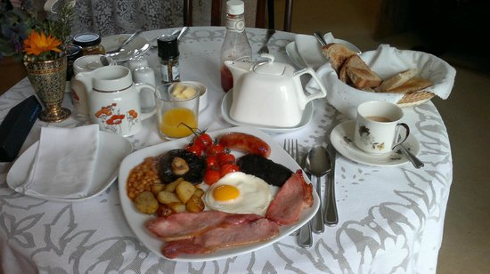 Dove Cottage: best English breakfast ever tasted
