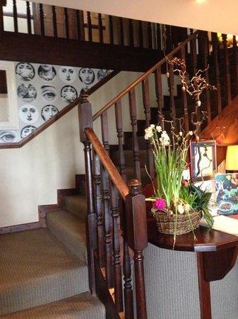 Ardagh Hotel & Restaurant: reception