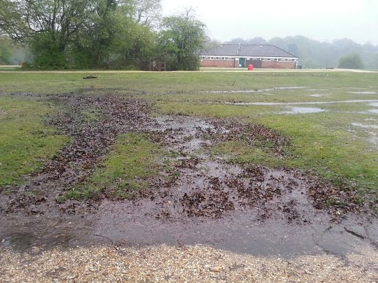 Ashurst Campsite : flood