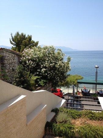 Hotel Saudade: utsikt fra vårt hotellrom