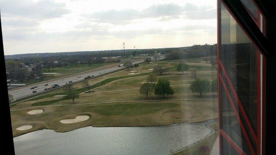 Hard Rock Hotel and Casino Tulsa: View from our room