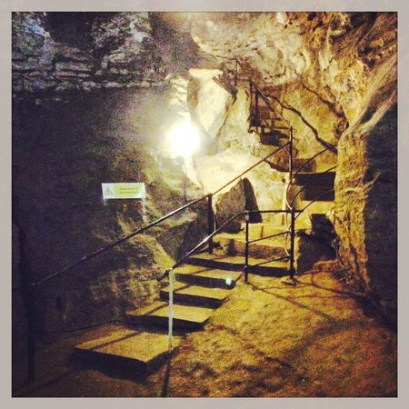Blue John Cavern: The stairs!!!