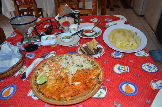 Rene & Renee : Table full of yummy food!