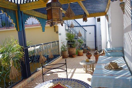 Riad Zara : Terrasse