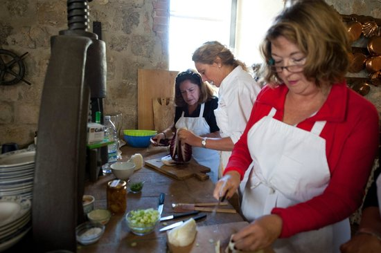 Ecco La Cucina : cooking at the old mill