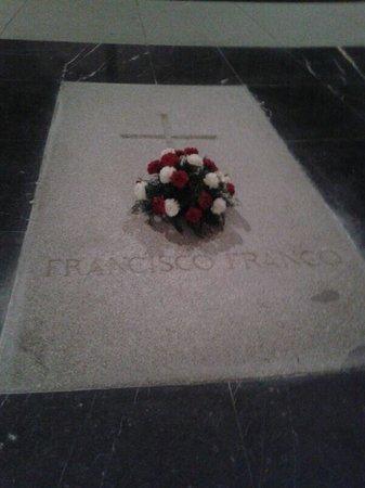 Valle de los Caídos: Franco