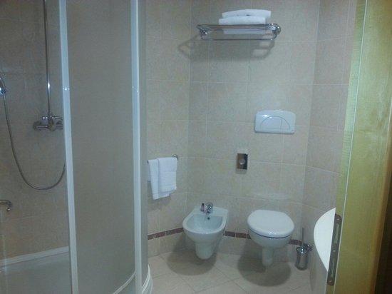 SHG Grand Hotel Milano Malpensa: Deuxième salle de bain