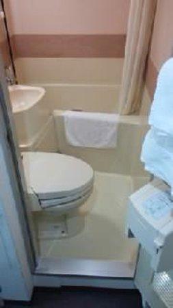 Hotel Econo Higashikanazawa: バストイレ
