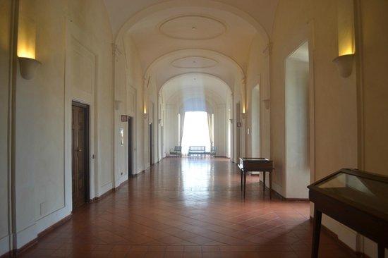 Domus Sessoriana: коридор к номерам