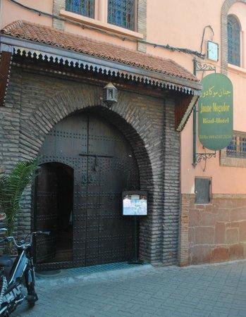 Jnane Mogador : Front entrance