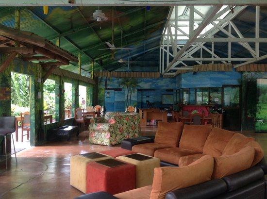 La Chosa del Manglar : Main lounge