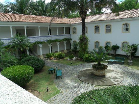 Costa Brasilis Resort: Réplica de um Mosteiro_ Quarto em que ficamos