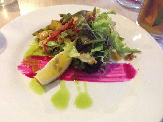 Galleria Restaurant: Shrimp salad!! Do delicious