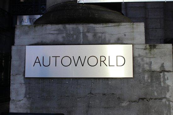 Autoworld : Вход