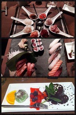 Basara Milano - Sushi Pasticceria : tartare, sushi e sashimi, dolci
