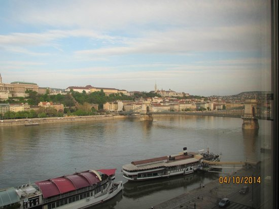 InterContinental Budapest: View from Room day time