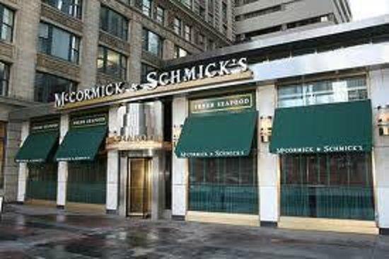 McCormick & Schmick's Seafood: McCormick & Schmick's Chicago