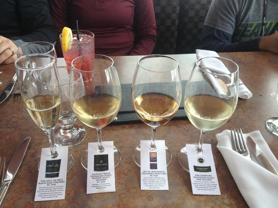Christine's: Treat yourself to a wine flight