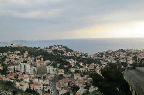 Petit Train Marseille: View of Marseille from above