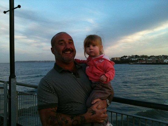 Little Italy: Matilda Rose & grandad