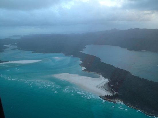 Qualia Resort: Whitsundays from the air