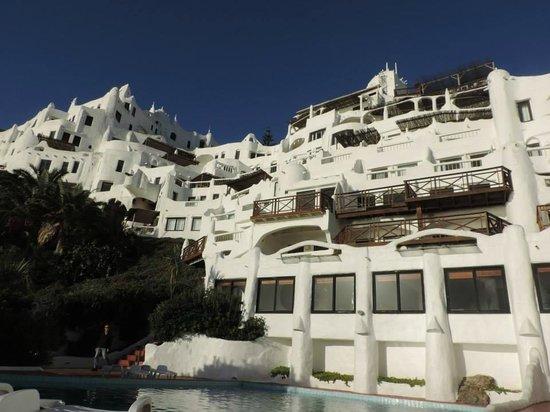 Club Hotel Casapueblo: Vista a partir da piscina