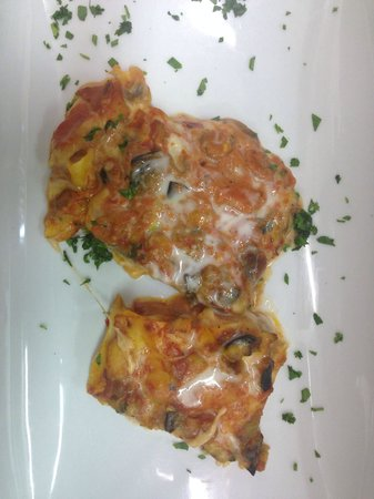 Lasagna con pesce
