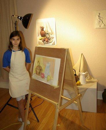 Renaissance School of Art: watercolor class