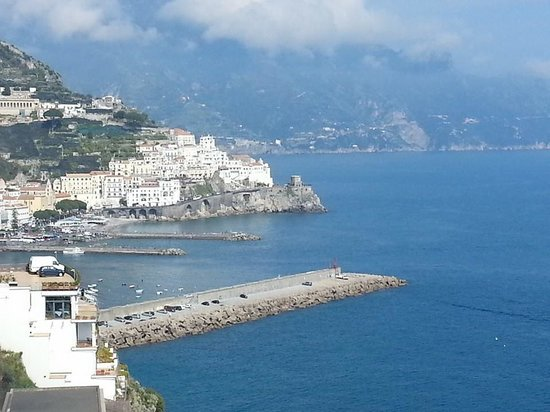 Santa Caterina Hotel: The view from our room #42