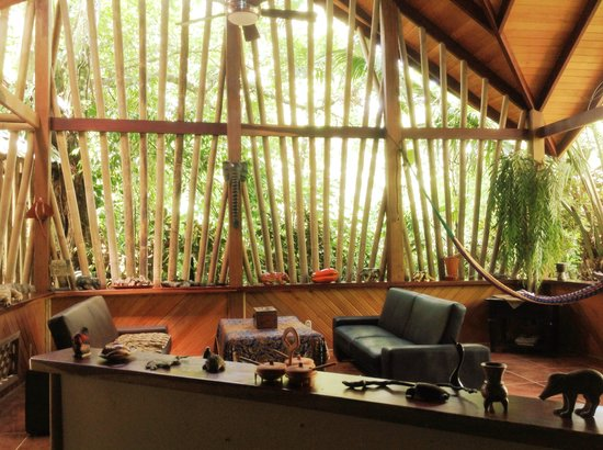 La Chosa del Manglar : Indoor/outdoor garden lounge