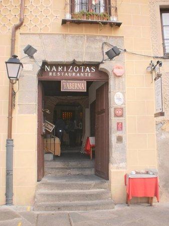 Restaurante Narizotas: Entrada principal