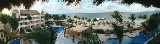 Excellence Riviera Cancun : panoramic view from Room 8355