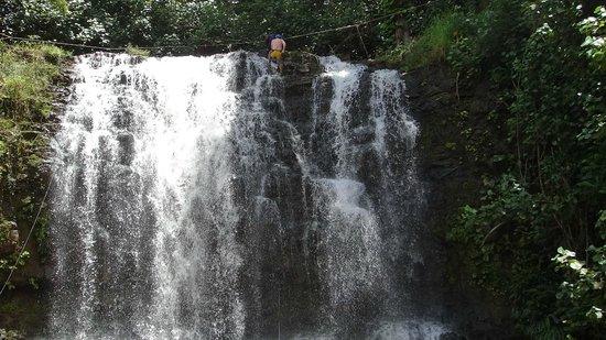 Island Adventures: 60 foot falls