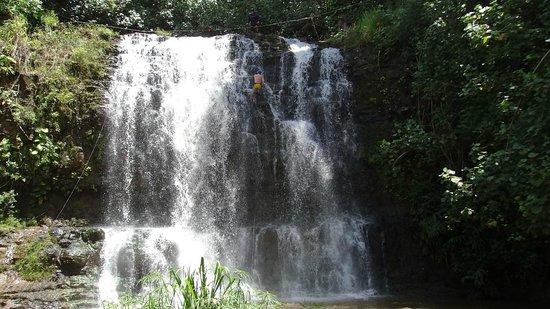 Island Adventures: 60 foot falls 2