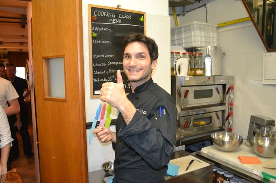 Cooking Classes in Rome : A Menu just for today - based on the ingredients available