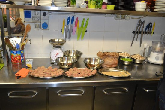 Cooking Classes in Rome : Prep-ing before the cooking begins