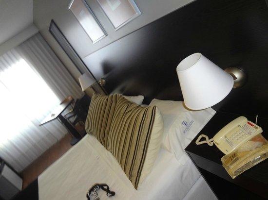 Pocitos Plaza Hotel: Quarto