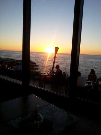 Garza Blanca Preserve, Resort & Spa: Garza Blanca Steak dining sunset