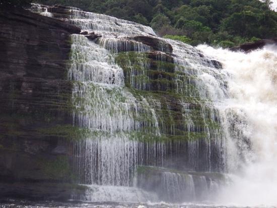 Tapuy Lodge : Sapo Falls, Canaima