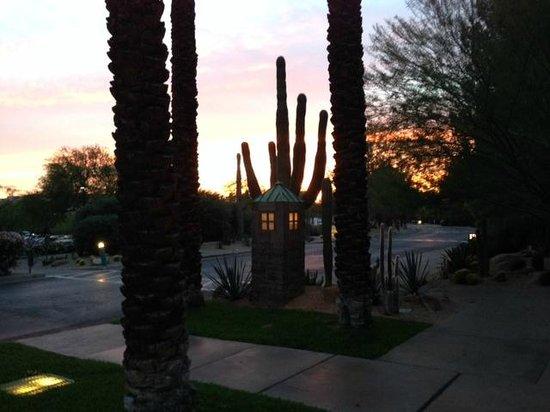 Hyatt Regency Scottsdale Resort and Spa at Gainey Ranch : Sunset