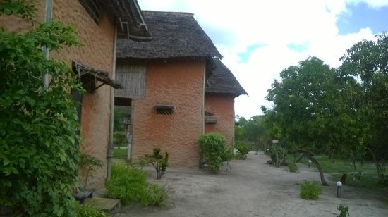 Kipepeo Beach Village: Huts