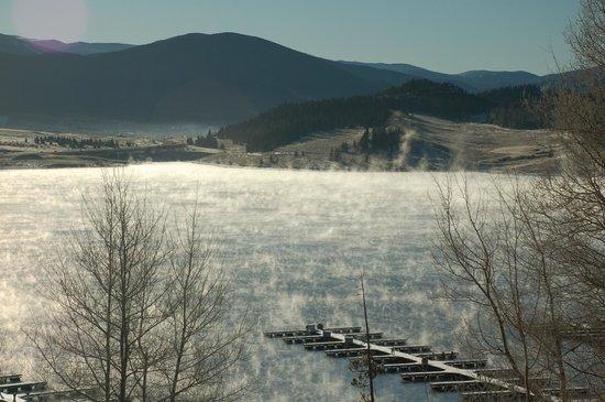 Dillon Reservoir: Fall lake