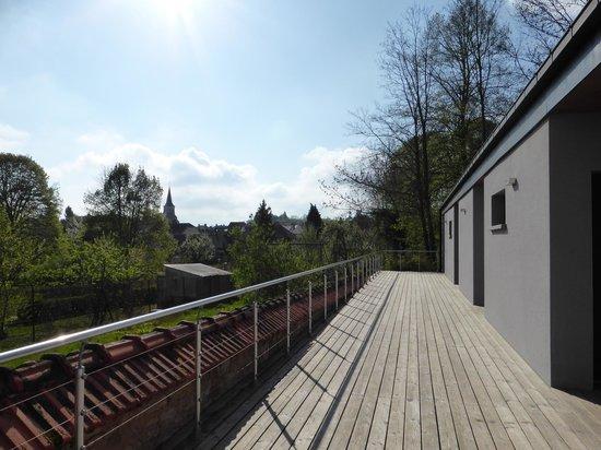 Le Parc du Chateau: L'accès aux chambres