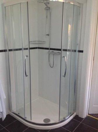 East Cliff Cottage Hotel : Decent sized shower