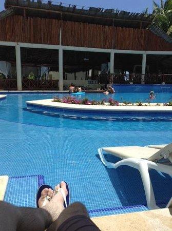 El Dorado Sensimar Riviera Maya: swim up room 4008 view
