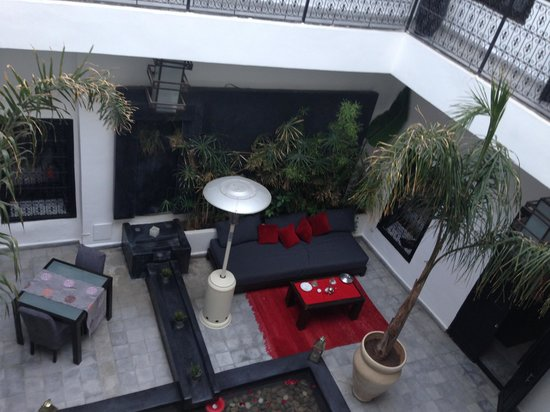 Riad Villa Wenge: View from the upstairs
